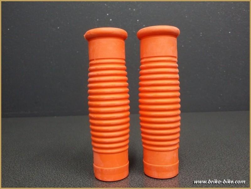 "Poignées de vélo ""Rustines"" Orange (Ref 40)"
