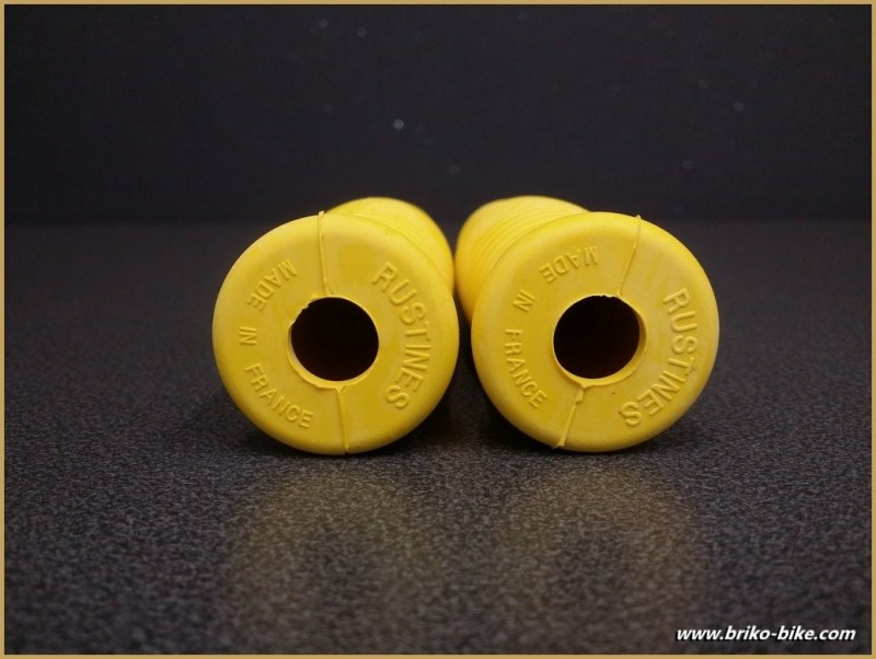 """the Handles of a bike """"Patches"""" Yellow (Ref 39)"""