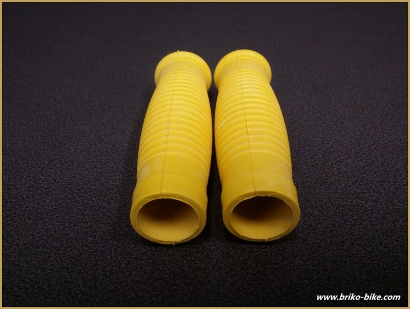 "Handles bike ""Patches"" Yellow (Ref 39)"