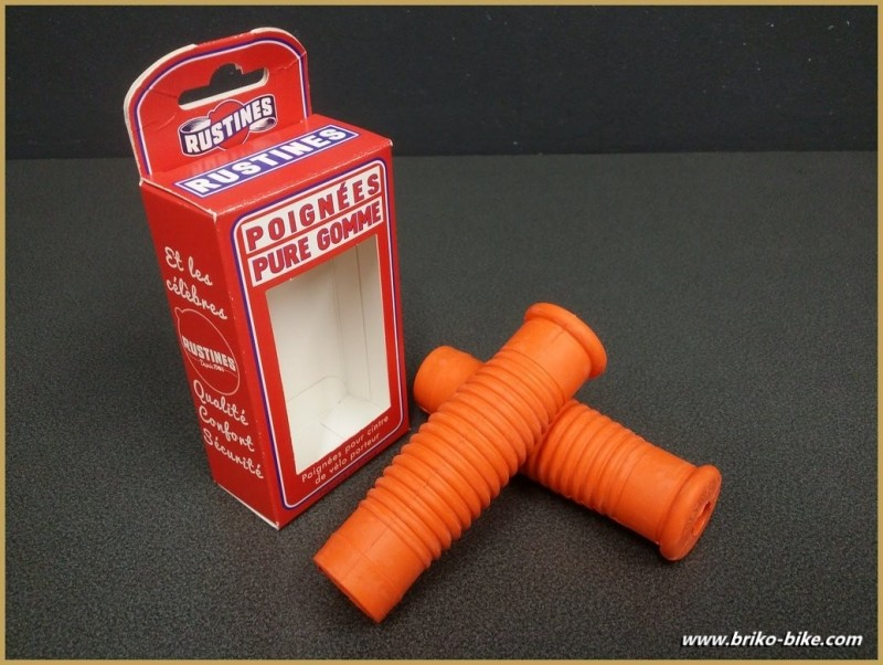 "Grips bike ""Patches"" Orange (Ref 40)"