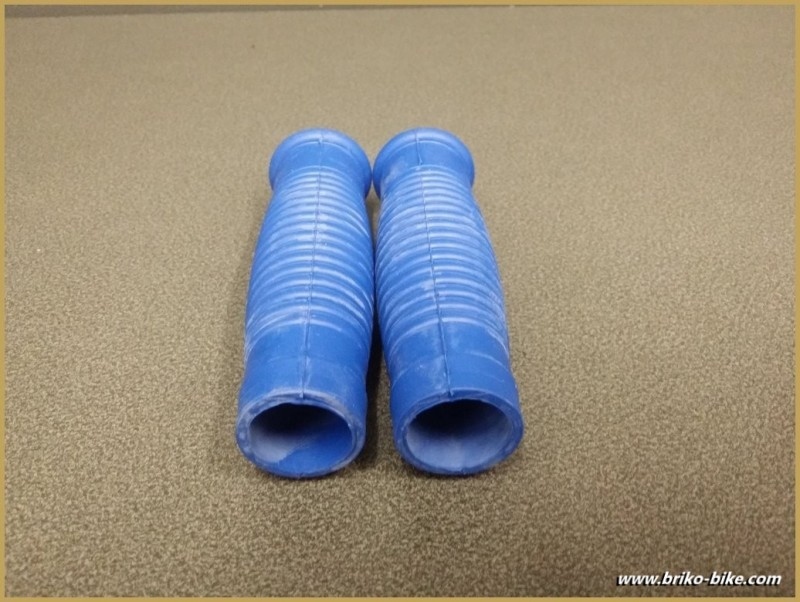 """the Handles of a bike """"Patches"""" Blue (Ref 15)"""