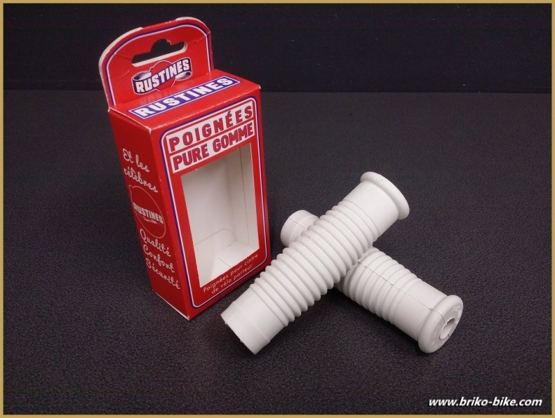 """Handles bike Carrier """"Patches"""" White (Ref 06)"""