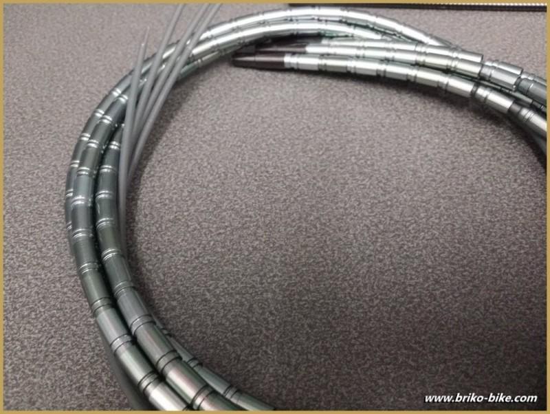 """Gaine Light aluminium """"TOKEN"""" Gris Titane (Ref 04)"""
