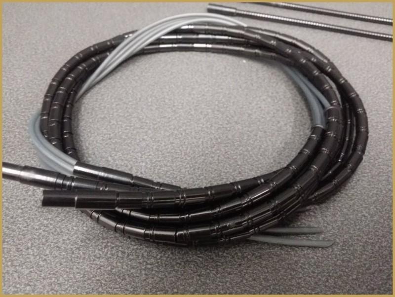 """Sheath Light aluminum """"TOKEN"""" Black (Ref 01)"""