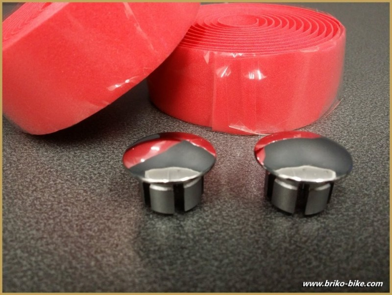 """Nastro bar """"Schiuma di PVC"""" colore Rosso (Rif 22)"""