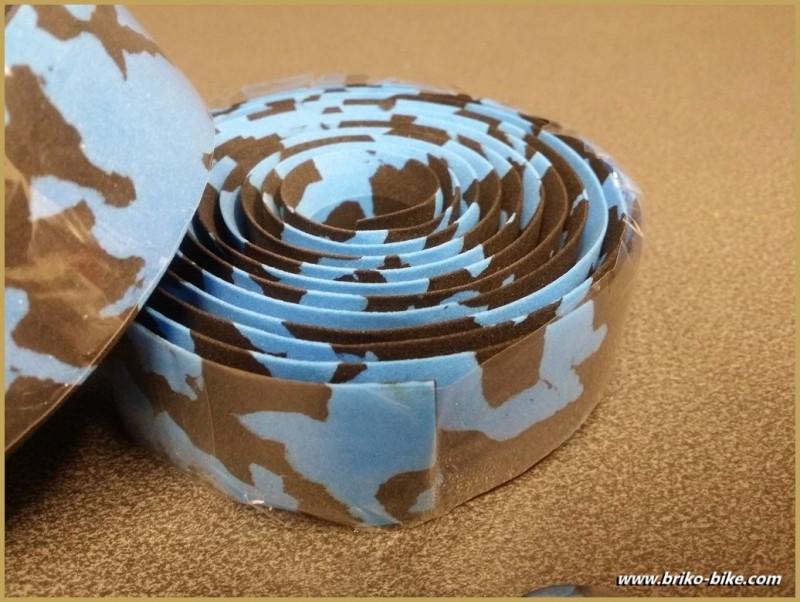 """bar Tape """"Marbled Blue / Black"""" (Ref 09)"""