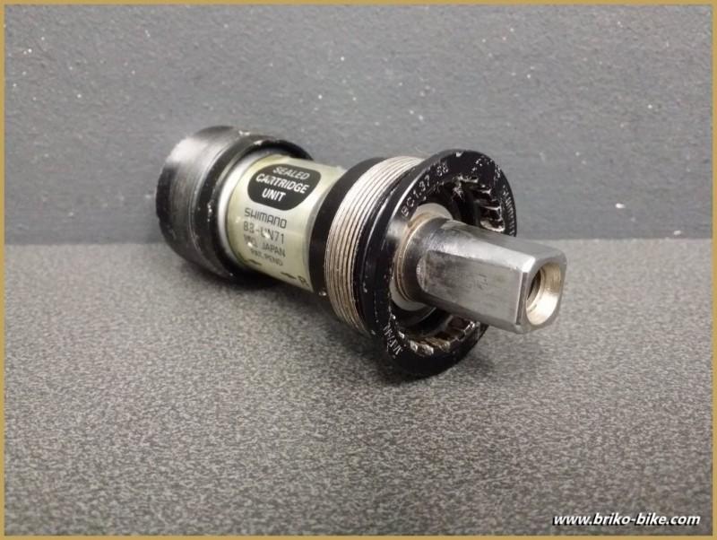 """Axe de pédalier """"SHIMANO BB-UN71"""" 107 mm BSC (Ref 221)"""