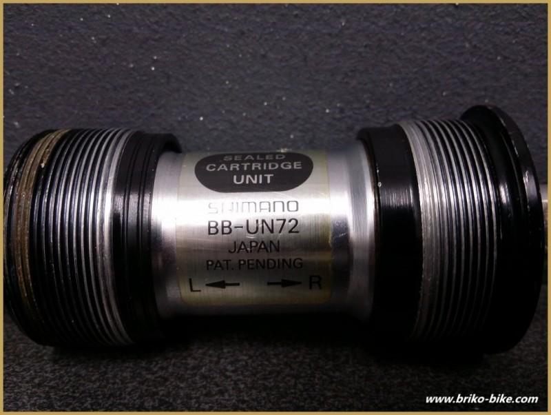 "Achse der kurbel ""SHIMANO BB-72"" 115 mm 36 x 24 (Ref 223)"