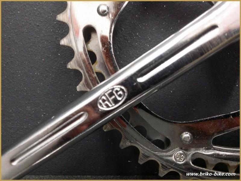 """Pédalier à clavettes """"RFG"""" 170 mm (Ref 539)"""