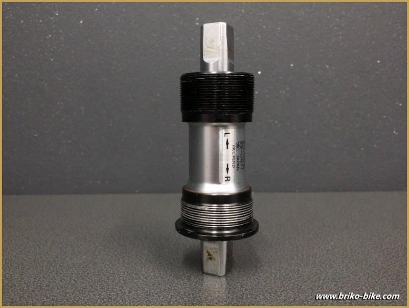 """Axe de pédalier """"SHIMANO BB-UN71"""" 115 mm BSC (Ref 243)"""