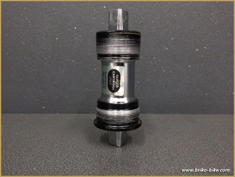 """Axe de pédalier """"SHIMANO BB-UN72"""" 108 mm Italien (Ref 244)"""