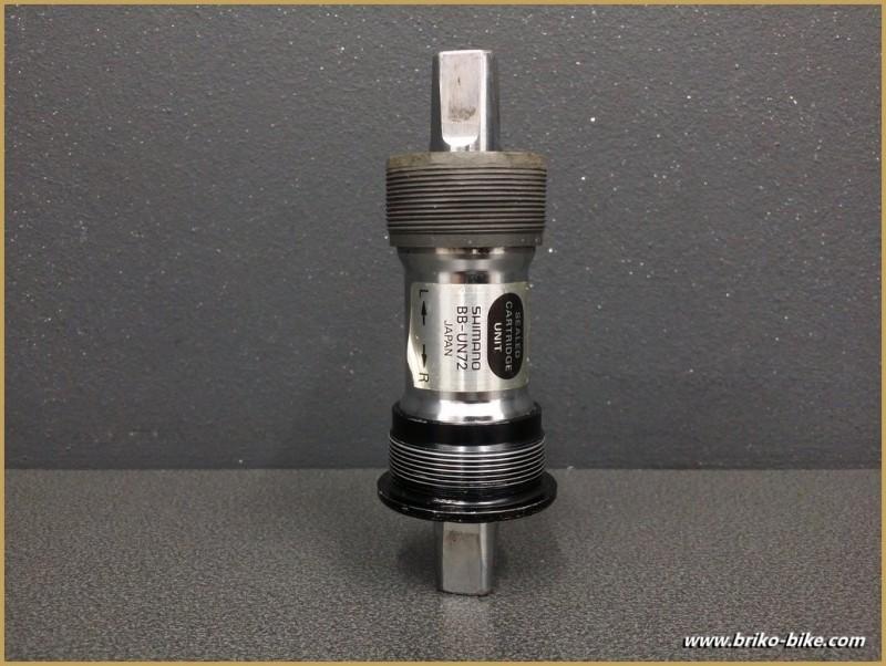 """Axe de pédalier """"SHIMANO BB-UN72"""" 115 mm BSC (Ref 245)"""