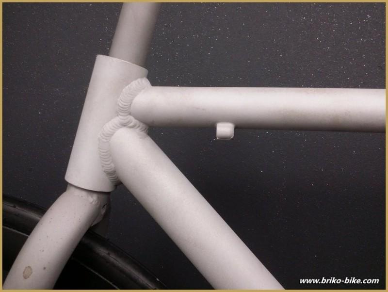 Rahmen als fixed-gear-aluminium Sandgestrahlt-Größe 52