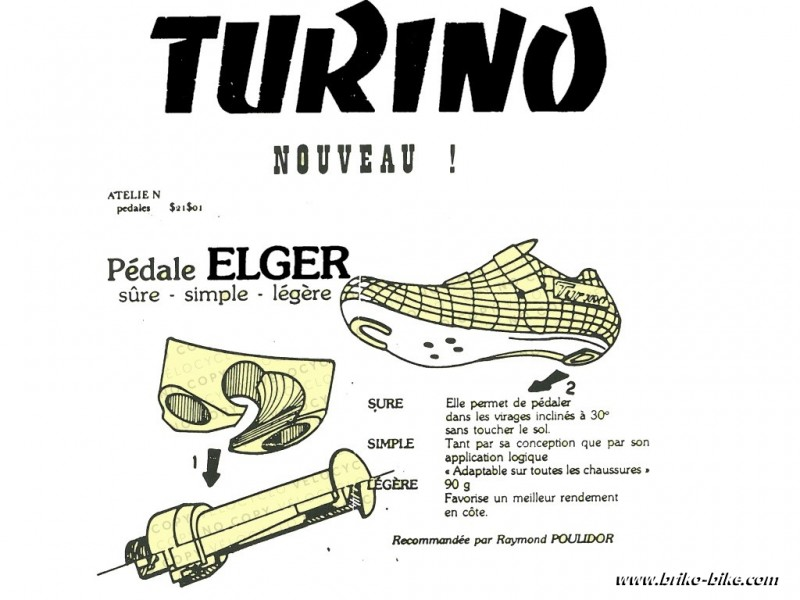 "Pedale automatisch ""ELGER"" BSC 9/16 x 20 (Ref 532)"