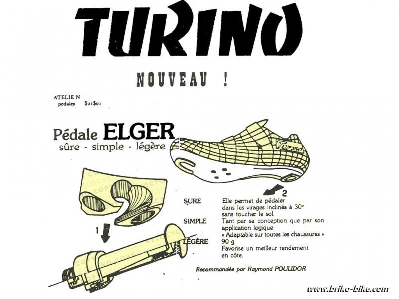 """Pédales automatique """"ELGER"""" BSC 9/16 x 20 (Ref 532)"""