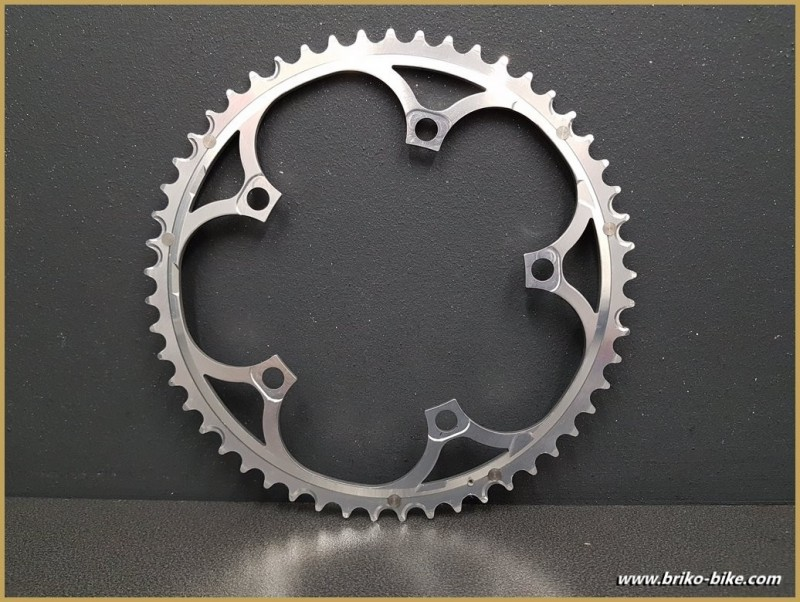 """Kaffee - """"CAMPAGNOLO RECORD 10v"""" 53d BCD 135 (Ref 643)"""