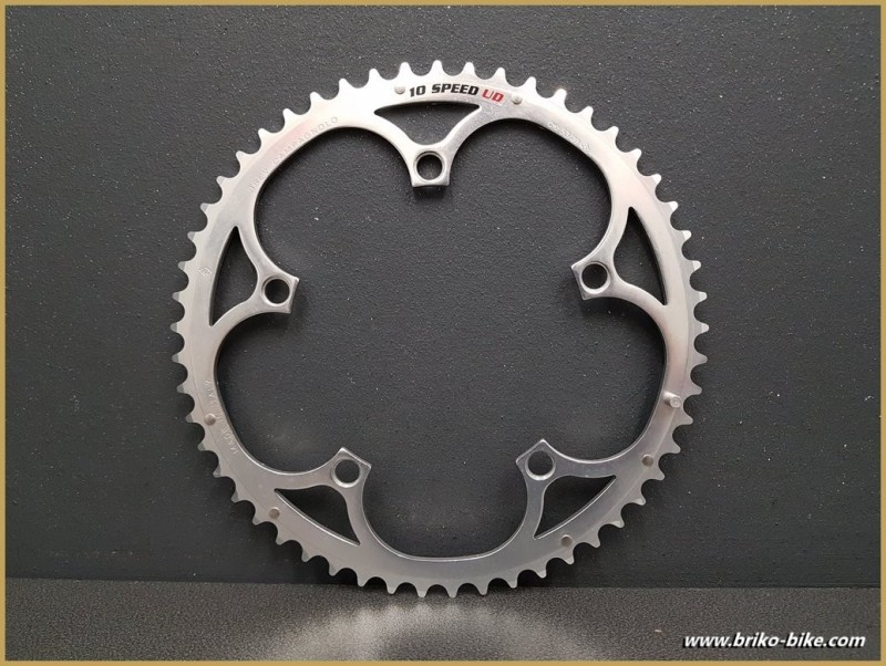 """Kaffee-N. O. S """"CAMPAGNOLO RECORD 10 SPEED UD"""" 53d BCD 135 (Ref 644)"""