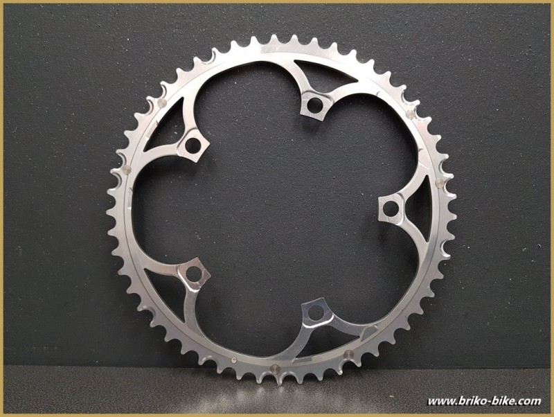 """Tray N. O. S """"CAMPAGNOLO RECORD 10 SPEED UD"""" 53d BCD 135 (Ref 644)"""