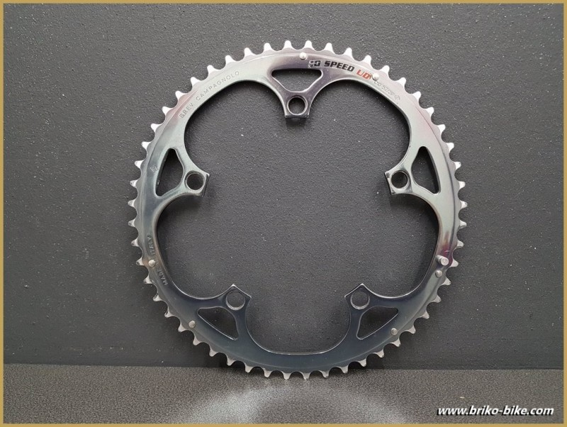 """Kaffee - """"CAMPAGNOLO RECORD 10 SPEED UD"""" 52d BCD 135 (Ref 645)"""