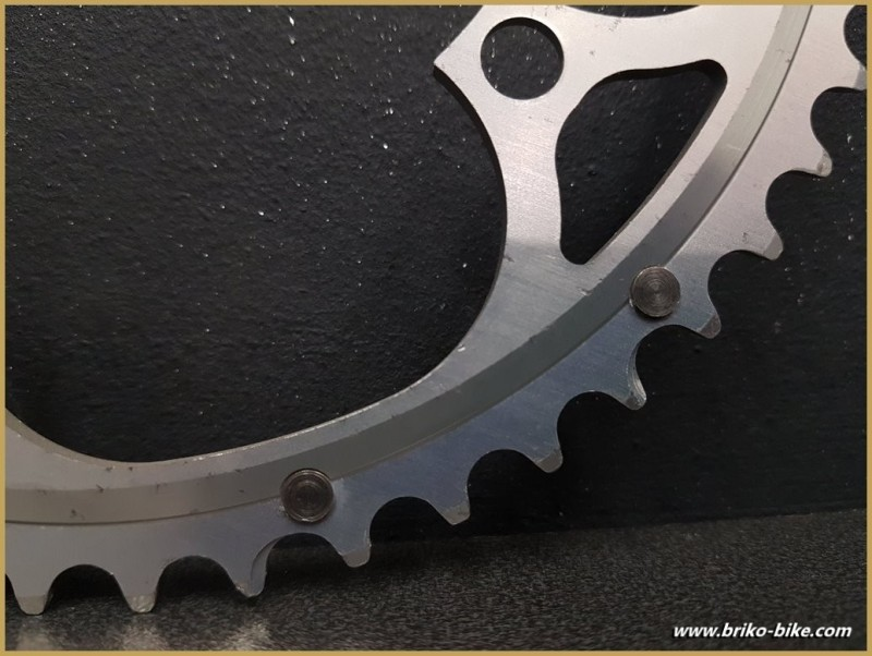 """Tray N. O. S CAMPAGNOLO EXA DRIVE"""" 52d BCD 135 (Ref 657)"""