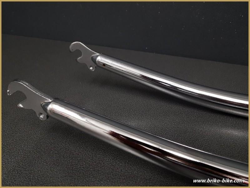 "Fork MTB 24 "" ""chrome steel"" (Ref 102)"