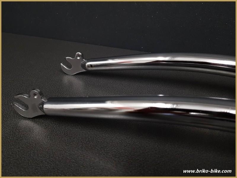 """Forcella MTB 24 """" """"acciaio cromato"""" (Rif 102)"""