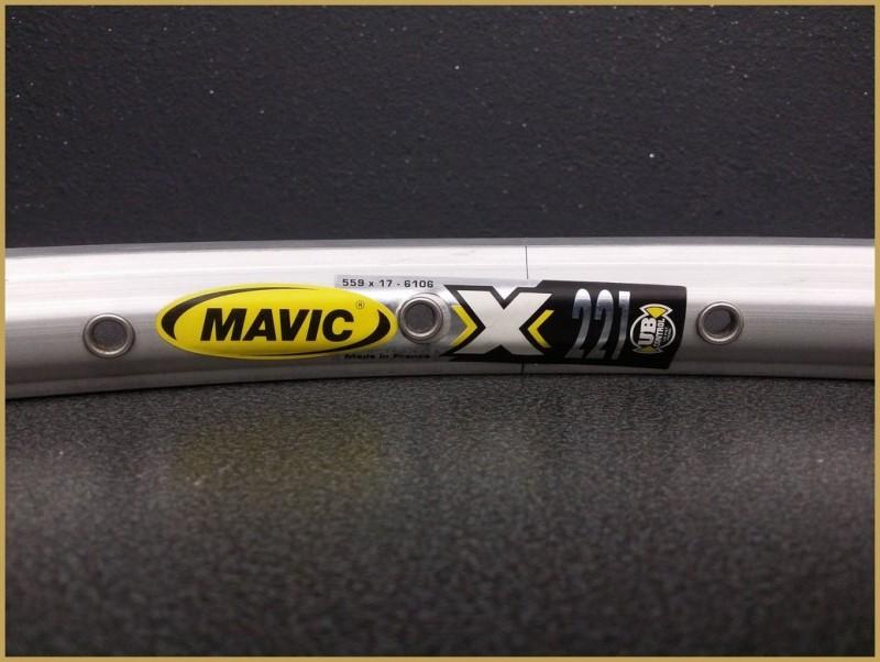 """Jante 26"""" VTT NOS """"MAVIC X221"""" 36t"""