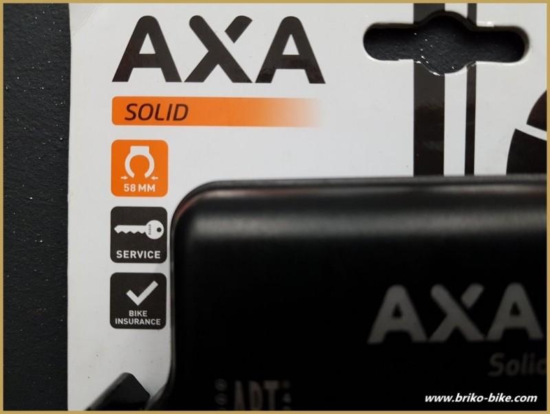 """anti-Robo de bicicletas """"AXA SÓLIDO RL"""""""