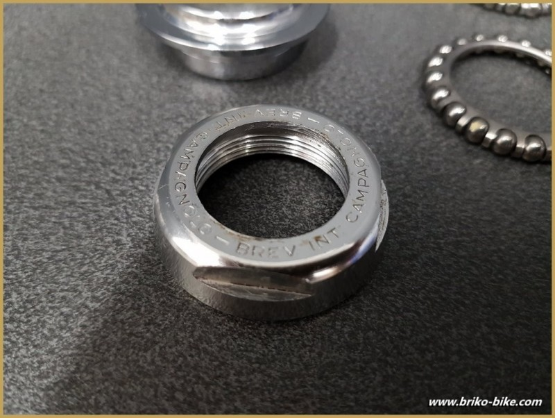 """Headset CAMPAGNOLO C-RECORD"""" French 25 x 1(Ref 408)"""