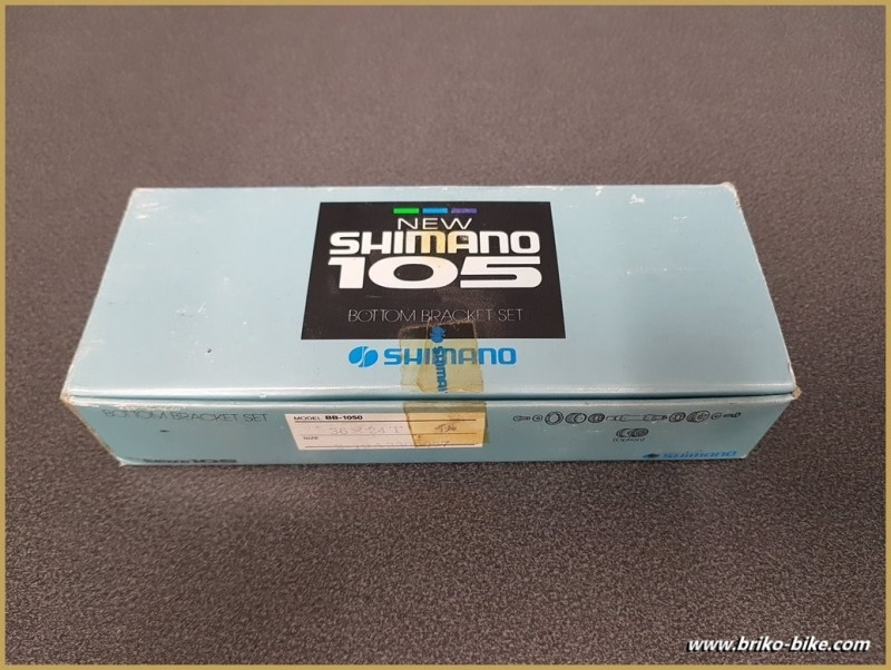 "- Axis of the bottom bracket NOS ""SHIMANO 105"" Ita 36 x 24 (Ref 257)"