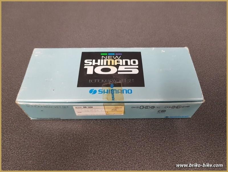 """Axe de pédalier NOS """"SHIMANO 105"""" Ita 36 x 24 (Ref 257)"""