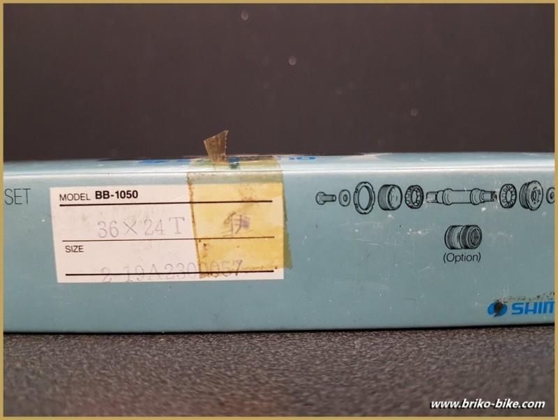 """La manovella di un NOSTRO """"SHIMANO 105"""" Ita 36 x 24 (Rif 257)"""