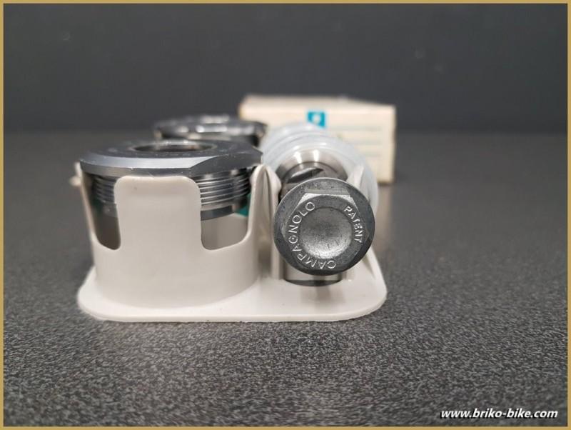"""La manovella di un NOSTRO """"CAMPAGNOLO ATHENA"""" 116 mm 36 x 24 (Rif 260)"""