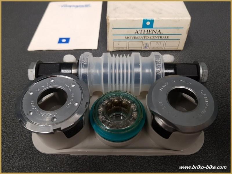 """La manovella di un NOSTRO """"CAMPAGNOLO ATHENA"""" 116 mm 36 x 24 (Rif 264)"""