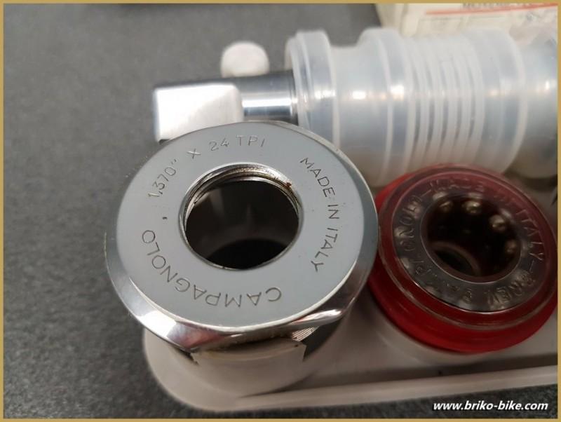 """La manivela de una de NUESTRAS """"CAMPAGNOLO C-REGISTRO de 111 mm BSC (Ref 265)"""
