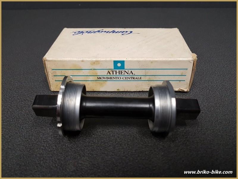 """Axe de pédalier NOS """"CAMPAGNOLO ATHENA"""" 116 mm 35 x 1 (Ref 273)"""