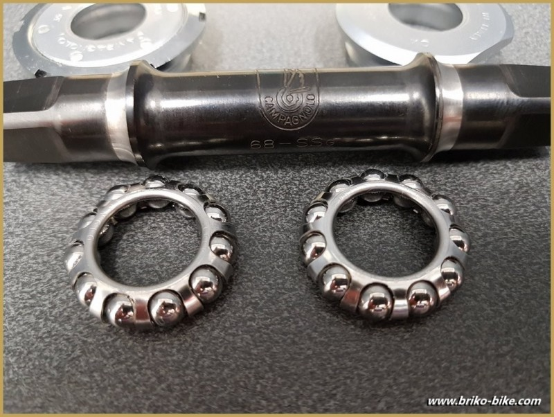 """Crank a OUR """"CAMPAGNOLO ATHENA"""" 116 mm 35 x 1 (Ref 273)"""