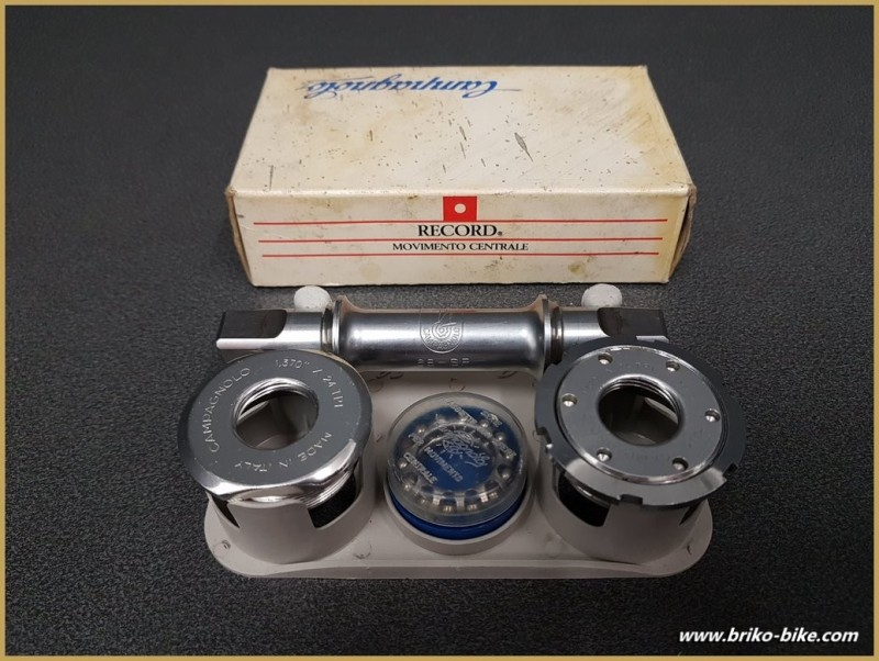 """Tretlager UNSERE """"CAMPAGNOLO C-RECORD"""" 111 mm BSC (Ref 274)"""