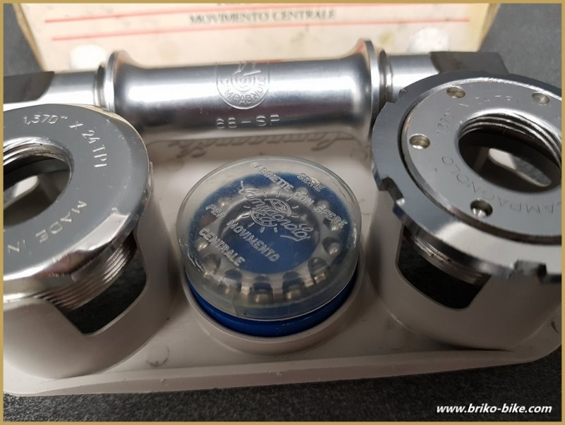"Crank a OUR ""CAMPAGNOLO C-RECORD 111 mm BSC (Ref 274)"