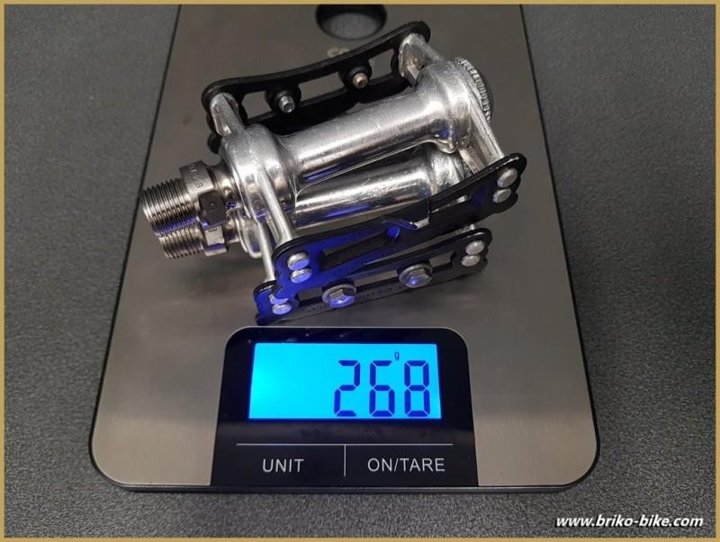 "Pedals CAMPAGNOLO SUPER RECORD PISTA TITANIUM"" (Ref 535)"