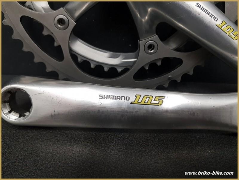 "Pédalier ""SHIMANO 105 Octalink"" 172.5 mm  (Ref 540)"