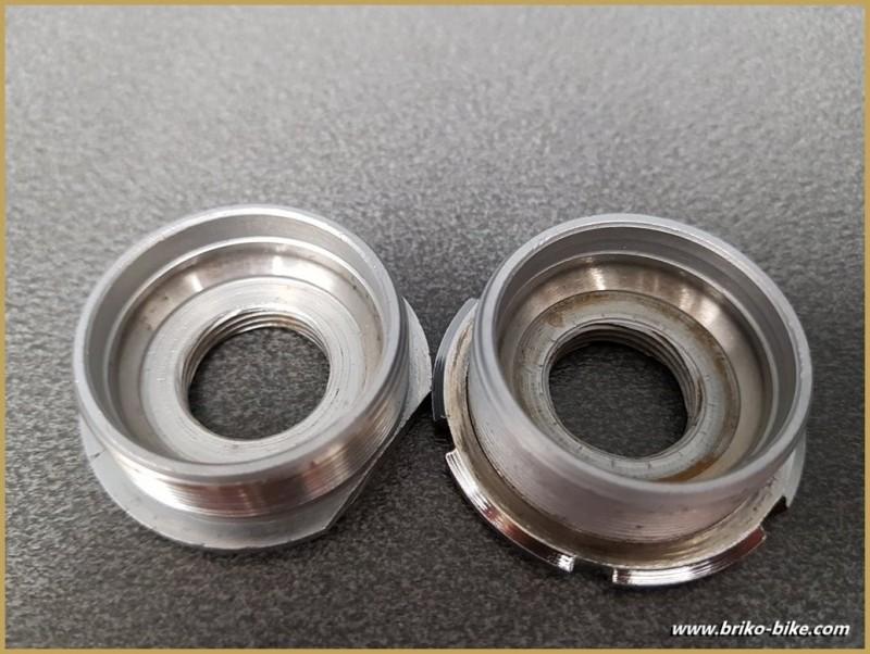 """Pedalier CAMPAGNOLO SUPER RECORD"""" 113 mm 36 x 24 (Ref 271)"""