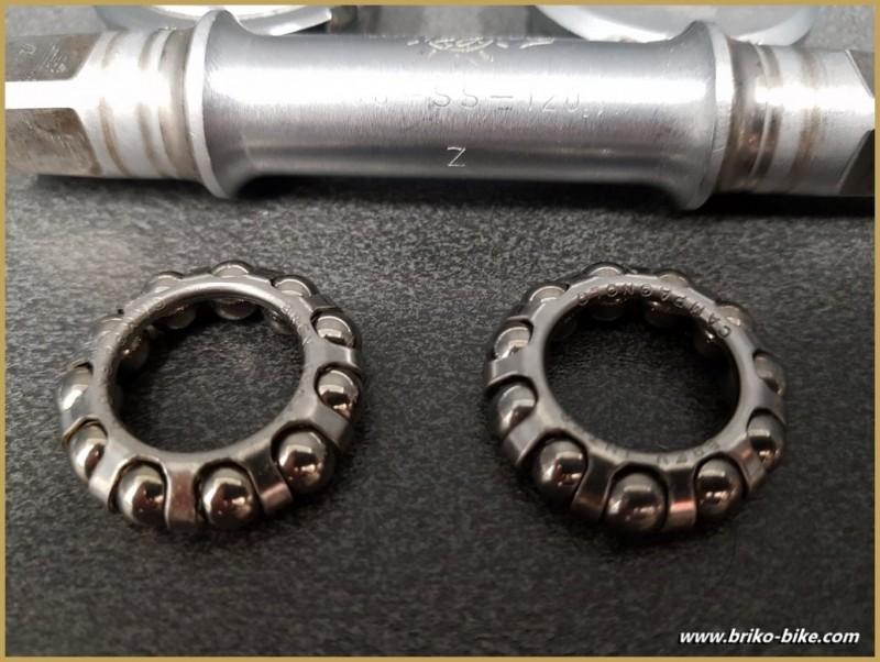"Axe de pédalier ""CAMPAGNOLO RECORD"" 113 mm BSC (Ref 278)"