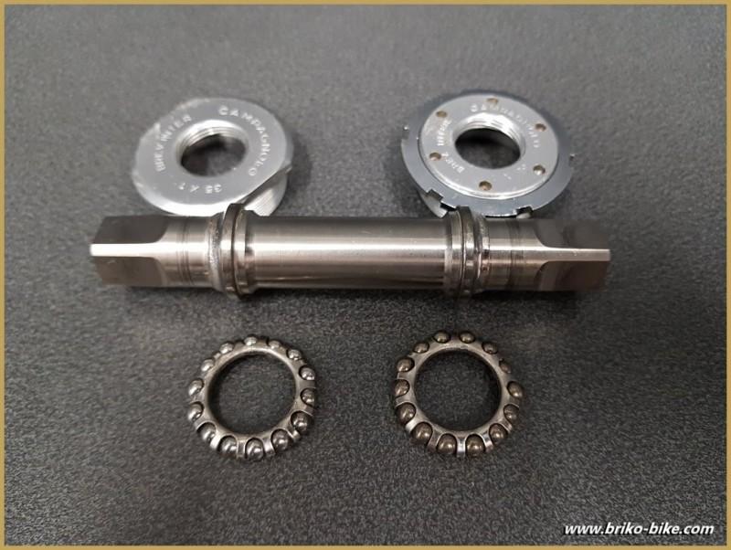 Movimento centrale CAMPAGNOLO SUPER RECORD TITANIO 113 mm 35 x1 (Rif 281)
