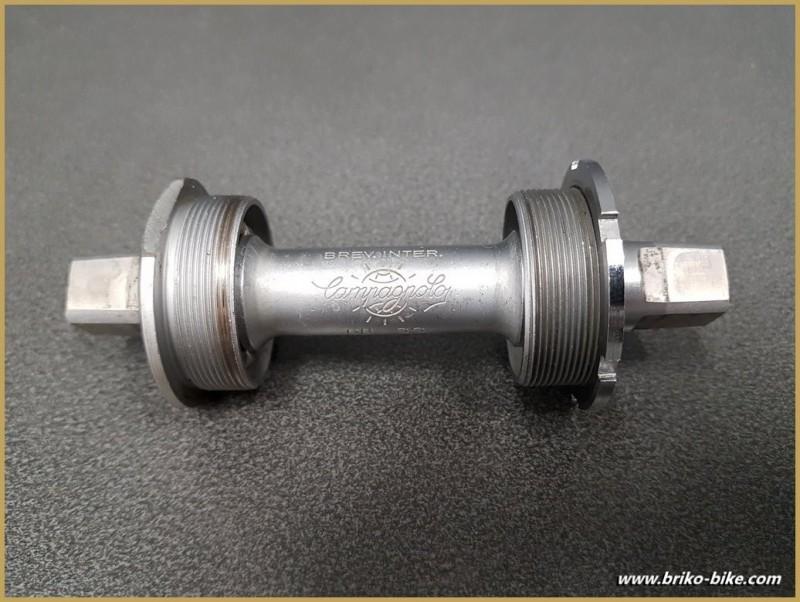 """Movimento centrale CAMPAGNOLO SUPER RECORD"""" 114 mm 35 x 1(Rif 282)"""