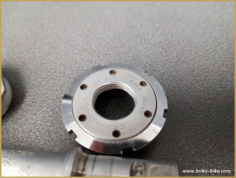 "Bottom bracket CAMPAGNOLO SUPER RECORD"" 114 mm 35 x 1(Ref 282)"