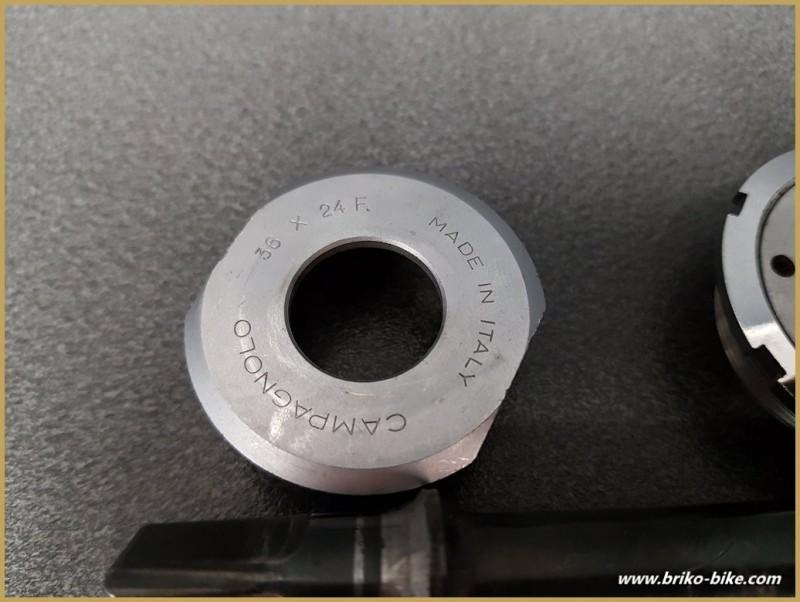 "Tretlager CAMPAGNOLO TRIOMPHE"" 114 mm 36 x 24 (Ref 283)"