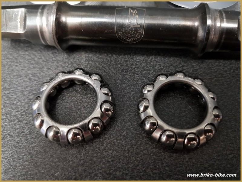 "Bottom bracket CAMPAGNOLO TRIOMPHE"" 114 mm 36 x 24 (Ref 283)"