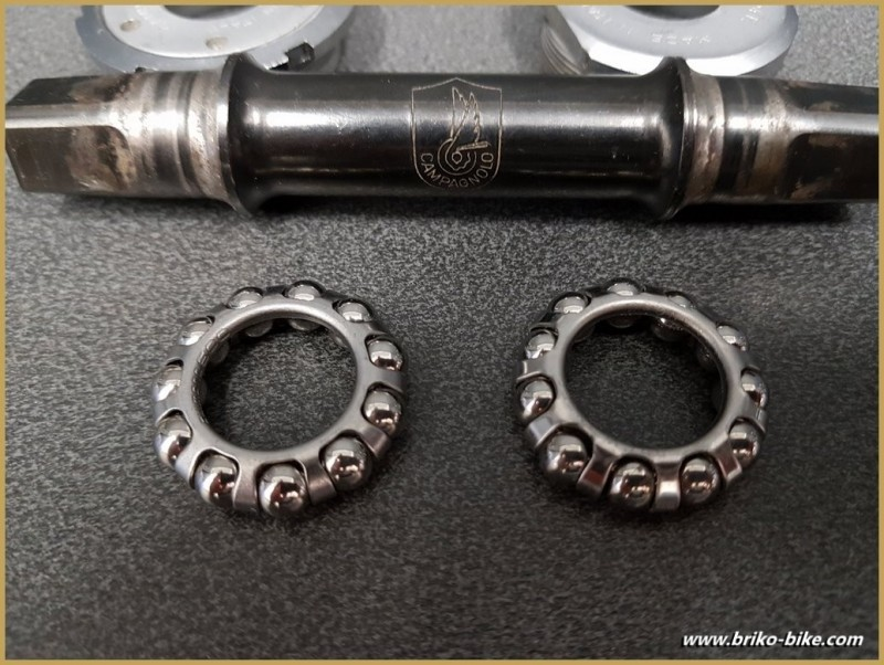 """Asse instabile """"CAMPAGNOLO ATHENA"""" 116 mm 36 x 24 (Rif 284)"""