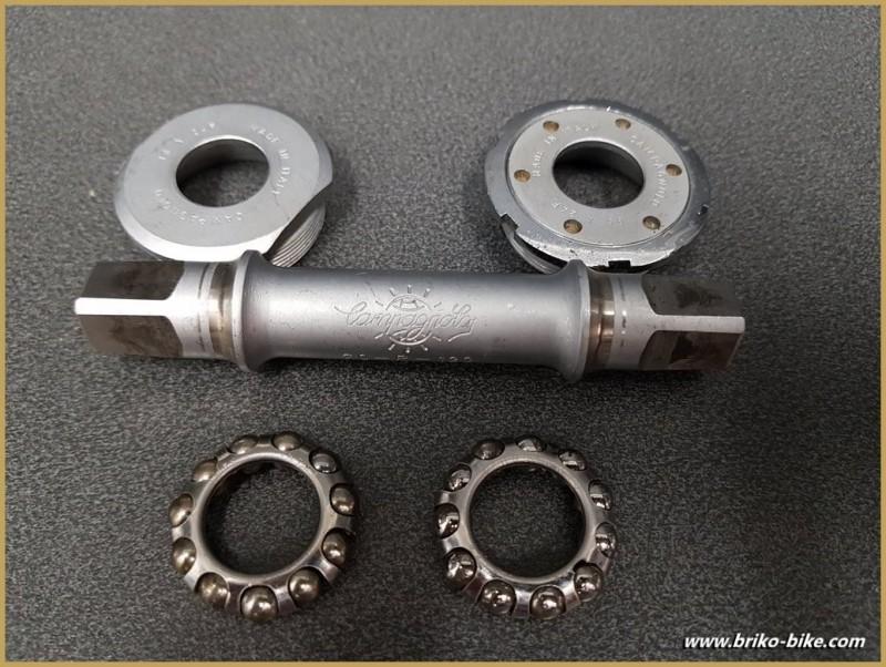 """Tretlager CAMPAGNOLO RECORD PISTA"""" 109 mm (Ref 285)"""